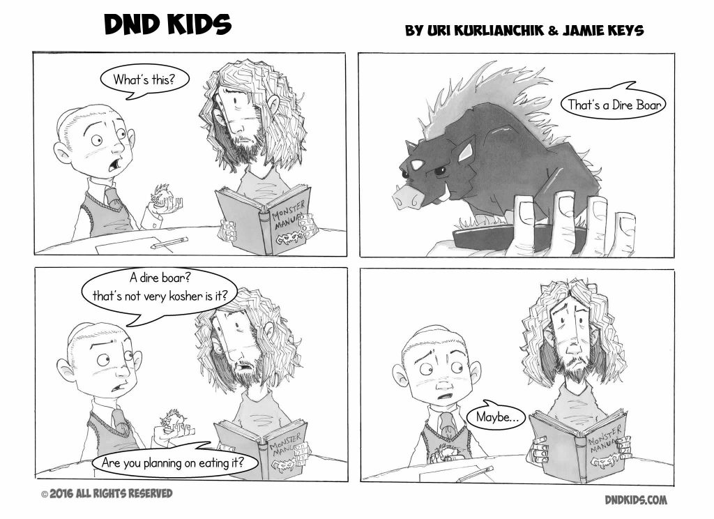 DND Kids comic strip