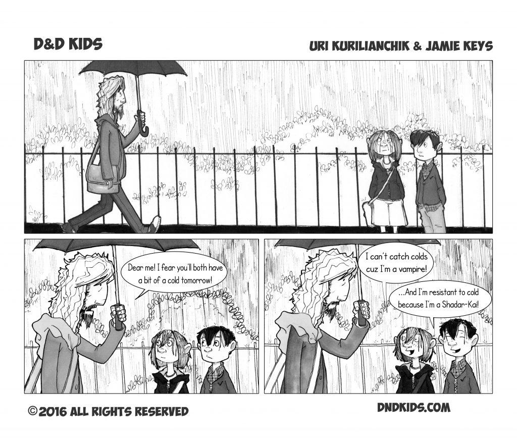 D&D Kids comic strip