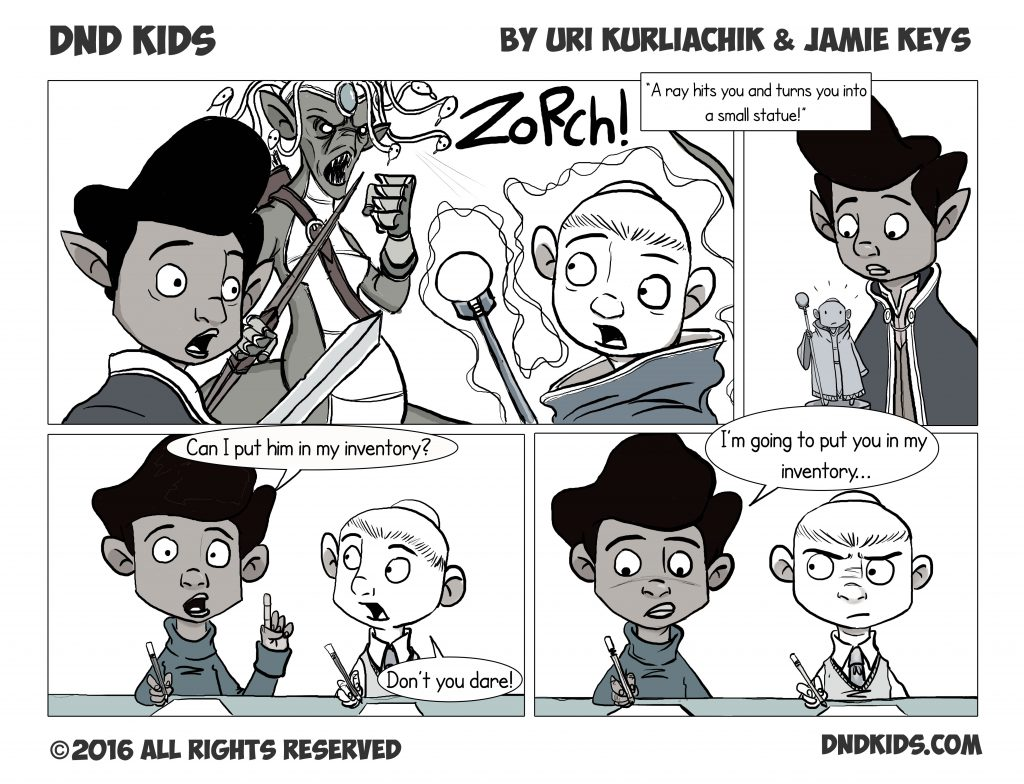 DND Kids comic