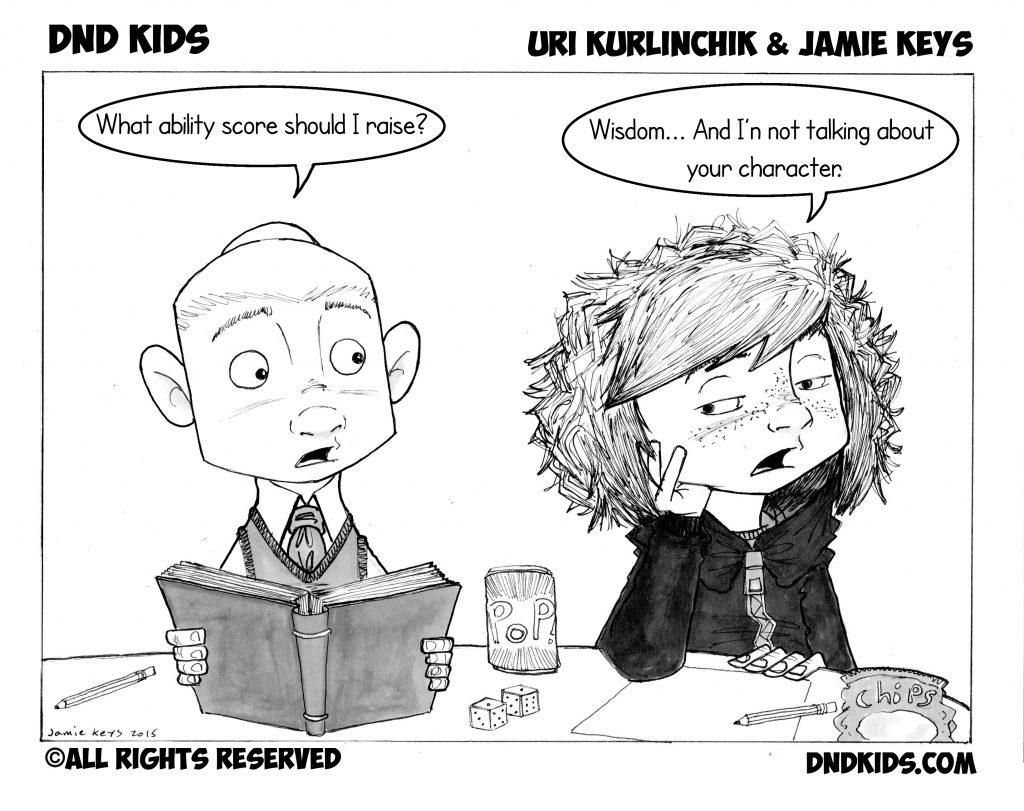 DND Kids comic